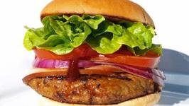 Cheddar-Chutney Turkey Burgers