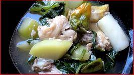 Chicken Tinola (Tinolang Manok) - Filipino Chicken Dish