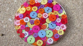 Button Coaster Another Coaster Friday