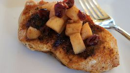Pork Chop with Apple Chutney