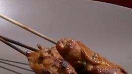 Thai Style Chicken Skewers