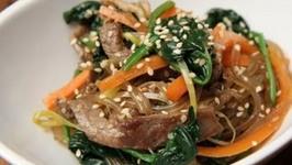 Korean Stirfried Noodle- Japchae