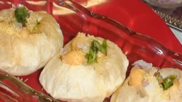 Puris for Pani Puris or Golgappa Puri or Puchka Puri Recipe- Chaat- Indian Gourmet Food