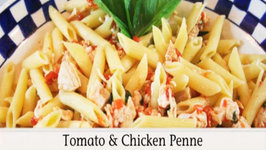 Tomato and Chicken Penne