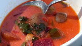 Best Ever Homemade Beet Soup (Borscht)