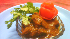 Indian Spicy Red Mutton Curry