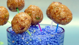 Oats Lollipop (Healthy Snack for Kids) by Tarla Dalal