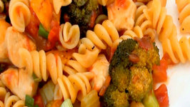 Easy Rotini with Chicken and Vegetables