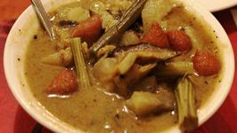 Bitter Veggie Curry - Sukto
