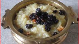 Pongal - Sweet and Savory
