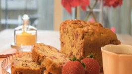 Strawberry Cream Tea Bread