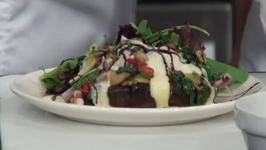 Orazio's Restaurant Stuffed Portobello
