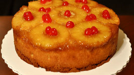 Microwave Pineapple Upside Down Cake