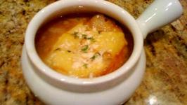 French Onion Soup in the Microwave