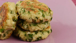 Mint and Masoor Tikki (Low Calorie Snack) by Tarla Dalal