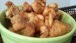 Wicked Chicken Pakora , Fried Chicken (Indian)