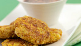 Thai Sweet Corn Cutlets by Tarla Dalal