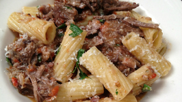Rigatoni and Braised Ribs