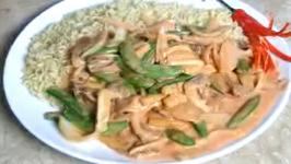 Stir-fried Vegetables in Coconut Milk