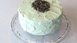 Chocolate Créme de Menthe Cake