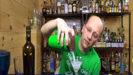Green Beast Cocktail, with Lucid Absinthe