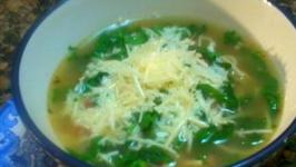 An Italian Inspired Toscana Soup and Homemade Garlic Bread