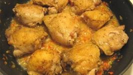Home Style Chicken In Mustard Sauce