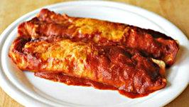 Healthy Roasted Eggplant Enchiladas
