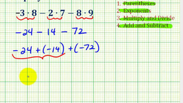 Ex 2:  Simplify Expressions Involving Integers Using the Order of Operations