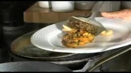 Indian Style Pan Fried Seabass Fish with Tomato Curry