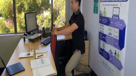 Stretches at your Desk 1 - Hips