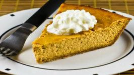 Sweet and crunchy Pumpkin Cheesecake