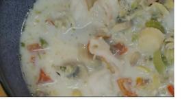 Fast Seafood Chowder