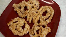 Sabudana Chakri Chakli or Murukku - Indian Snack