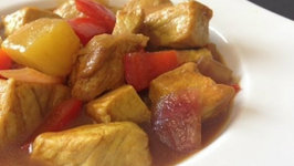 How to Make Sweet and Sour Pork Curry (Easy Pork with Pineapple)