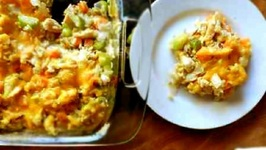 Healthier Chicken And Vegetable Casserole