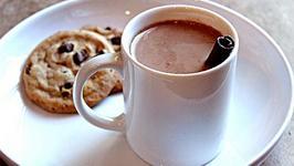 Hot Chocolate Mocha Drink