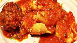 Stuffed Shells and Meatballs