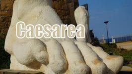 Visiting Caesarea, Israel