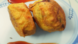 Monsoon Delight - Aloo Bonda (Potato Fritter)