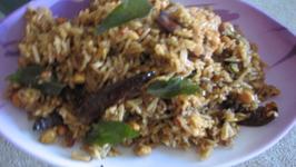 Tamarind rice (easy)