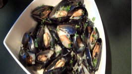 Moules Mariniere a la creme (Mussels Mariner Style)
