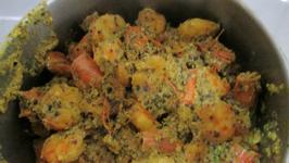Sorshe Chingri - Prawns In Mustard Sauce