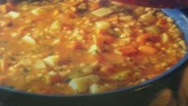 Winter Barley and Vegetable Soup