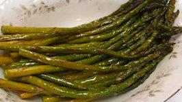 Betty's Roasted Asparagus -- Terrific Veggie for Easter!