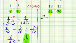 Example:  Subtract Fractions with Unlike Denominators