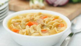 Ten-Minute Turkey Noodle Soup