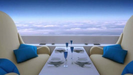 Supersonic Jet Replaces Windows with Live-Streaming Screens