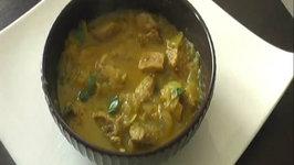 Pork Vindaloo / Indian Pork Curry