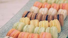 Festive French Macarons